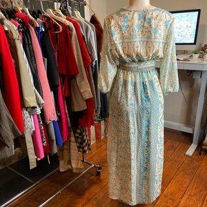 Boho Cardigan/Dress Button Detail